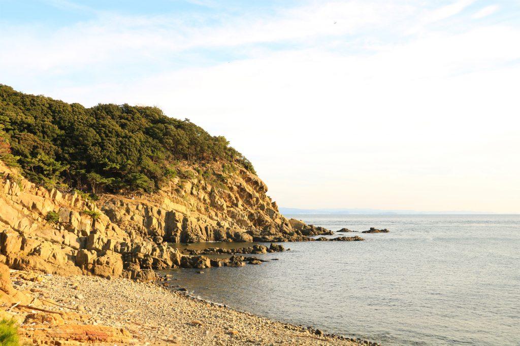 友ヶ島 入江