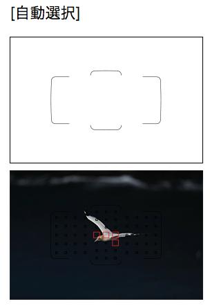 測距エリア選択モード