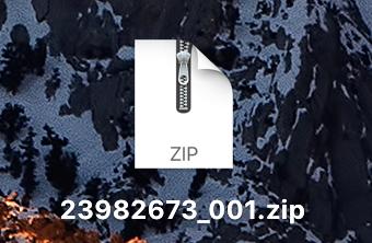 zipファイル2