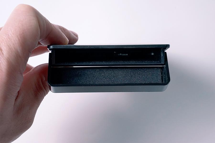 SSDケース差し込み口