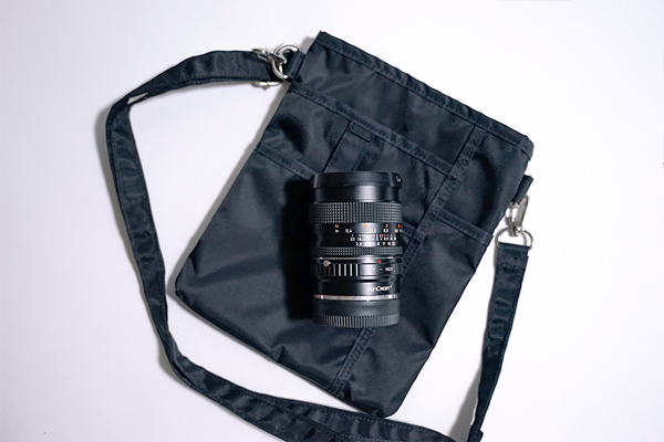 レンズポーチと単焦点レンズ