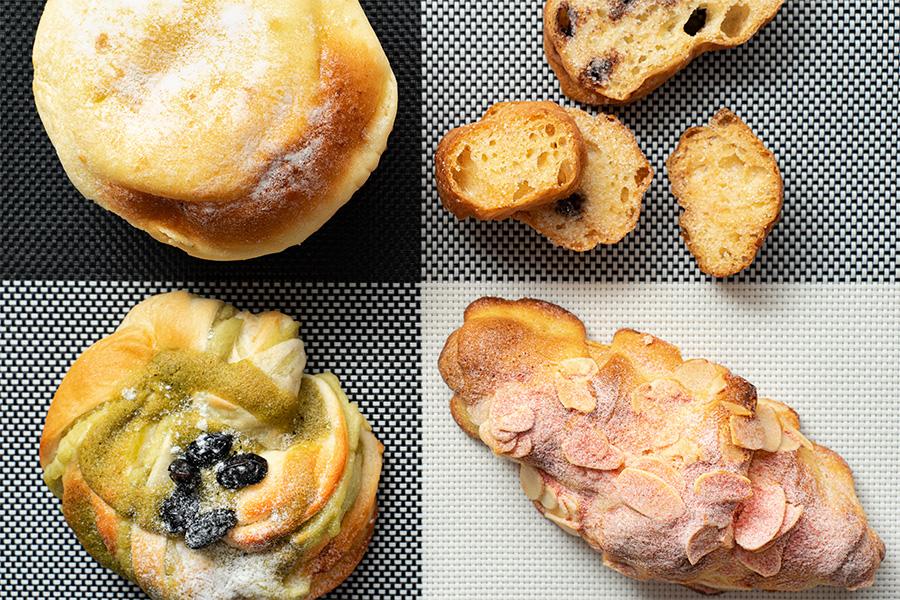 チットチャットサーカスのパン集合