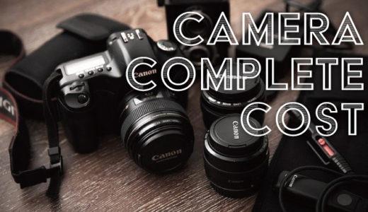 一眼レフ・ミラーレスカメラ 一式揃えるのに費用はどれくらい必要?