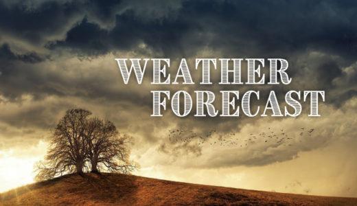 狙った天気で外の撮影!よく当たる天気予報サイトをもっておこう!
