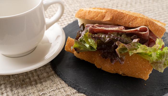 サンドイッチ明るい