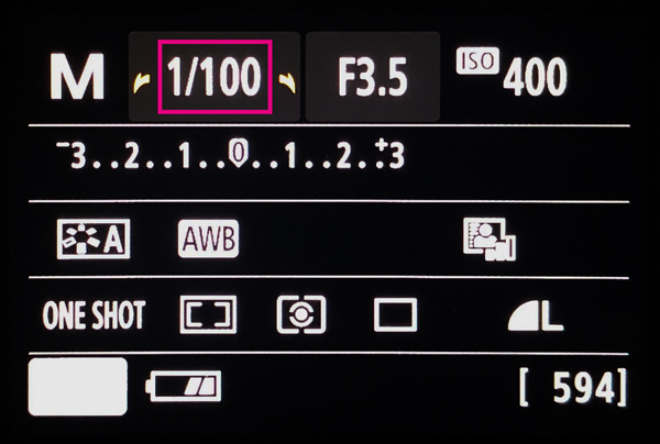 シャッター速度の画像